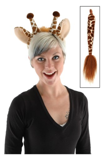 elope Giraffe Ears and Tail Set