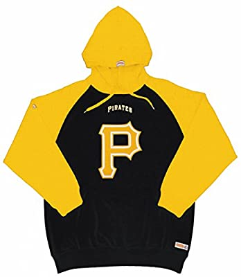 MLB Pittsburgh Pirates Youth Big Logo Pullover Hood