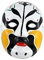 Beijing Opera Mask, Chinese Opera Mask, Costume Mask, Face Mask, Gold Mask, #4
