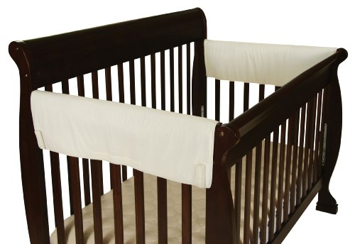 Leachco Easy Teether XL Side Crib Rail Cover, 2 Pack, Ivory