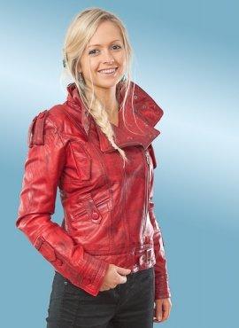 Sacha Womens Leather Jacket