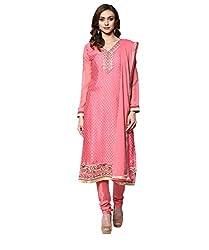 Yepme Zubeda Brasso Salwar Kameez - Hot Pink -- YPMRTS0009_Free Size
