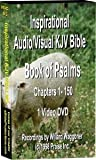 Audio/Video Book of Psalms - KJV Bible - 2.7 hours -2,701 Nature Photos (1) Video DVD disk.
