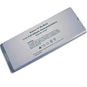 """9 Cells Apple A1185 MacBook 13"""" series replacement laptop battery fits Apple MacBook MA254*/A MA255 MA699 MA700 MB061*/A MB062J/A MB062LL/A series replace A1185 MA561 MA561FE/A MA561G/A MA561J/A series"""