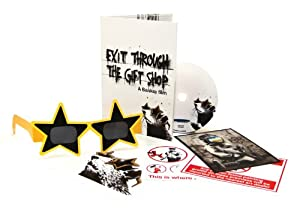 Exit Through The Gift Shop - Limited edition [DVD]