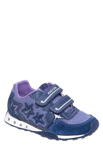 Geox Kid's Jr New Jocker Girl Denim Sneaker