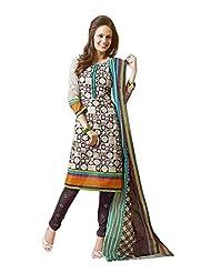 AASRI Women Cotton Unstitched Salwar Suit - B015FY0E56