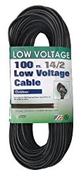 Coleman Cable 095041008 14/2 Low Voltage Lighting Cable, 100-Feet