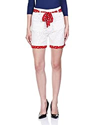 The Vanca Women's Shorts (SHF350093-OFFWHITE-XL)__
