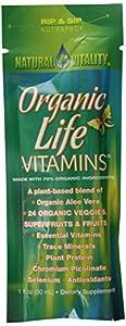 Natural Vitality Organic Life Vitamin Nutri Packs, 1.0 fl oz,, 30 ct
