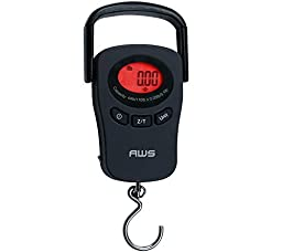 AWS PK-110 Peak Hold Digital Hanging Scale American Weigh 110lb x 0.1lb by American Weigh