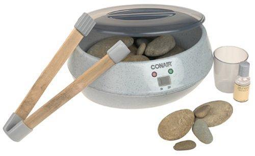 Conair Hr10 Heated Hot Stone Rock Warmer Bath Spa Therapy (Conair Hot Stone Warmer compare prices)