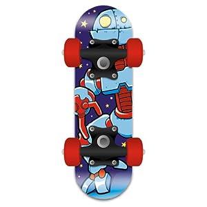Mini Satchel Skateboard - Robot Design
