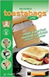 Toastabags Two Reusable Non-Stick Sandwich/Snack