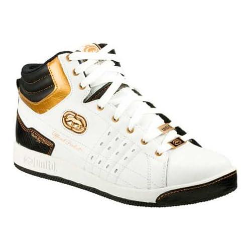 Unltd by Marc Ecko Men's Phranz Pennings Hip Hop Shoes,White Black,6.5