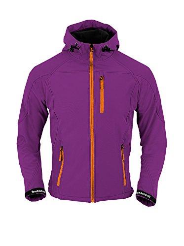 Izas Tahoe-giacca da montagna, da donna, colore: viola/arancione, taglia L