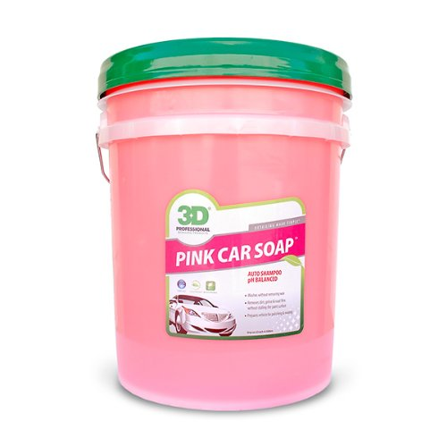 Pink Car Soap 5 Gallons