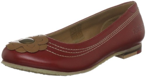 Kickers Women's Maltipump Red Mules Flats 1-11328 8 UK