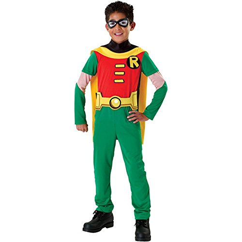 [Teen Titans Robin Kids Costume - Large (12-14)] (Teen Titan Robin Costumes)