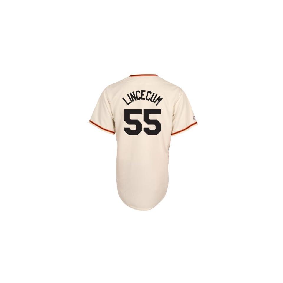 MLB Tim Lincecum San Francisco Giants Replica Home Jersey