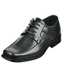 Goodfellas Square Toe Dress Shoes - black, 7 toddler