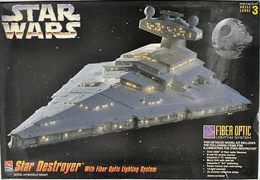 Star Wars STAR DESTROYER FIBER OPTIC Model Kit AMT ERTL (Star Wars Amt Model Kit compare prices)