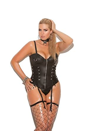 Amazon.com: Plain Leather G-string - Q/s - Black: Adult Exotic