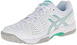 ASICS Women\'s Gel-Dedicate® 4 White/Silver/Mint 12 B - Medium