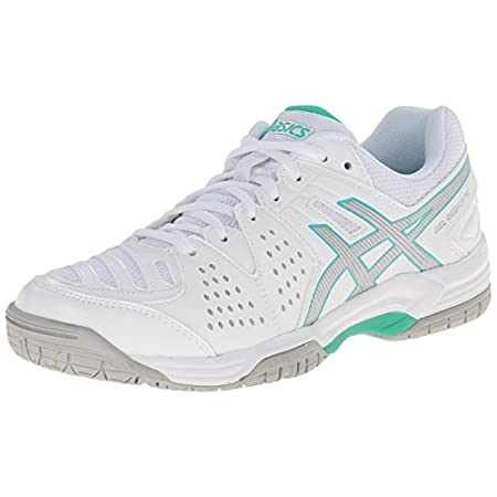 The ASICS GEL-Dedicate 4 sneaker is an entry-level tennis shoe engineered to bring beginner's luck. Made from synthetic leather and mesh, this women's court shoe has a solid rubber outsole to help you stick every lunge and pivot. The midfoot Trusstic...