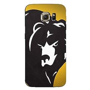 BEAR BACK COVER FOR SAMSUNG S6