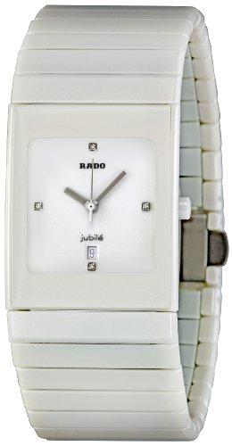 Rado Ceramica Jubile R21711702 32 Ceramic Case White Ceramic Men's Quartz Watch
