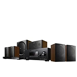 Sony HTP-828 DW 5.1 Heimkinosystem (DVD-Player, HDMI, Upscaler 1080p, USB 2.0)