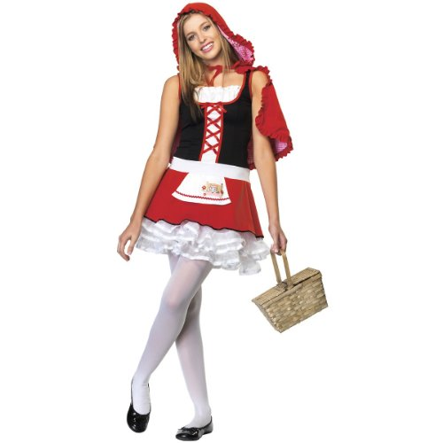 Lil' Miss Red Costume - Teen Medium/Large