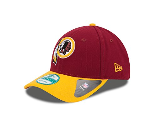 New Era - Cappellino Regolabile Nfl Washington Redskins Multicolore, Taglia Unica