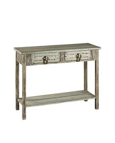 Cooper Classics Benue Console Table, Light Grey