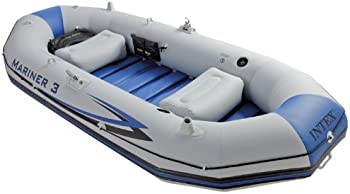 Intex Mariner 3-Person Inflatable River/Lake Dinghy Boat