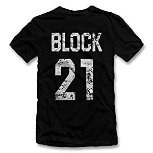 Block 21 Weiss T-Shirt S-XXL 12 Farben / Colours