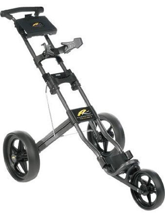 Powakaddy Twinline 3 Push/Pull Golf Trolley Black Frame