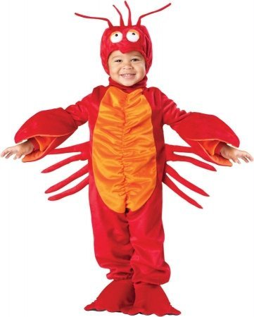 Costumes For All Occasions Ic7511Txl Lil Lobster Toddler 4T