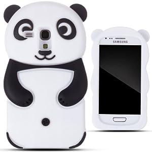 zooky nero silicone panda cover case custodia per. Black Bedroom Furniture Sets. Home Design Ideas