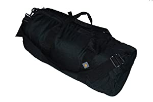 Northstar 1050 HD Tuff Cloth Diamond Ripstop Series Gear/Duffle Bag (14 x 30-Inch, Black)