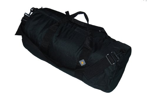 Northstar 1050 HD Tuff Cloth Diamond Ripstop Series Gear/Duffle Bag (12 x 24-Inch, Black)
