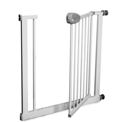 Infantastic® TSCG01 Baby Türschutzgitter kein Bohren ca. 74-87cm schwenkbar