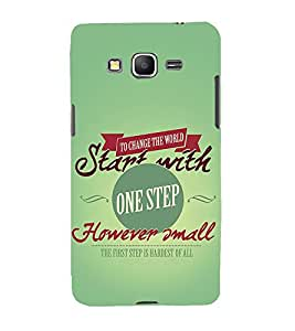 Nice Quote 3D Hard Polycarbonate Designer Back Case Cover for Samsung Galaxy Grand Prime :: Samsung Galaxy Grand Prime Duos :: Samsung Galaxy Grand Prime G530F G530FZ G530Y G530H G530FZ/DS