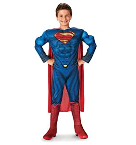 Deluxe Superman Man of Steel Child Costume by Rubies Costume Co. Inc