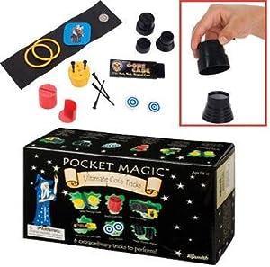 Toysmith Pocket Magic Ultimate Coin Tricks Novelty
