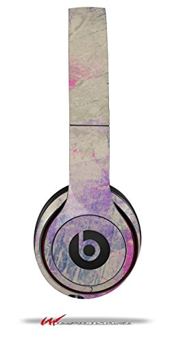 Pastel Abstract Pink And Blue - Decal Style Skin Fits Genuine Beats Solo 2 Headphones (Headphones Not Included)