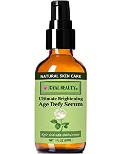 Joyal Beauty® Joyal Beauty THE BEST Leave on Exfoliator /Skin Brightener/Acne Treatment 3 in 1! Ultimate Brightening Anti Aging Serum by Joyal Beauty. Glycolic Acid+Salicylic Acid Safely Removing