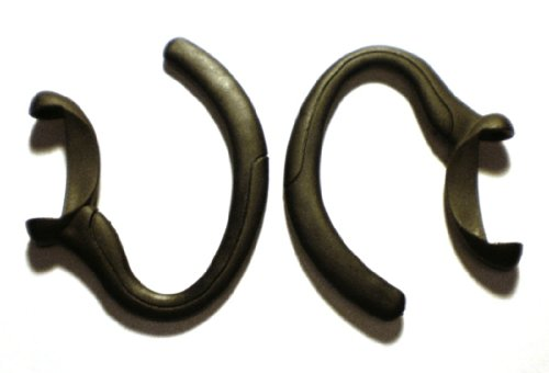 2 Black Earhooks For Motorola H700 H710 H715 H721 Wireless Bluetooth Headset Ear Hook Loop Clip Earhook Hooks Loops Clips Earloop Earclip Earloops Earclip Replacement Part Parts