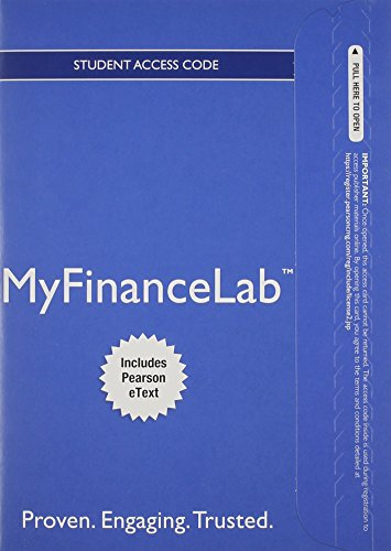 NEW MyFinanceLab with Pearson eText -- Student Access Card -- for Corporate Finance (Myfinancelab compare prices)